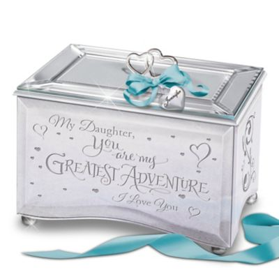 Bradford Exchange My Daughter, You Are My Greatest Adventure Personalized Mirrored