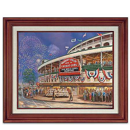 Thomas Kinkade Wrigley Field Memories And Dreams Wall Decor