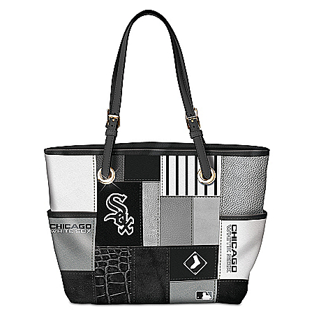 Chicago White Sox MLB Women's Patchwork Tote Bag