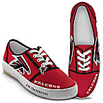 I Love The Atlanta Falcons NFL Women's Shoes