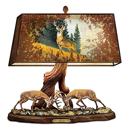The Wilderness Challenge Deer Desk Lamp
