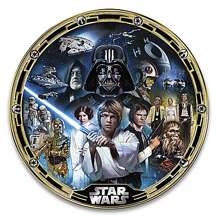 STAR WARS A New Hope Masterpiece Collector Plate