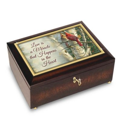 Bradford Exchange Love Is A Miracle Personalized Cardinal