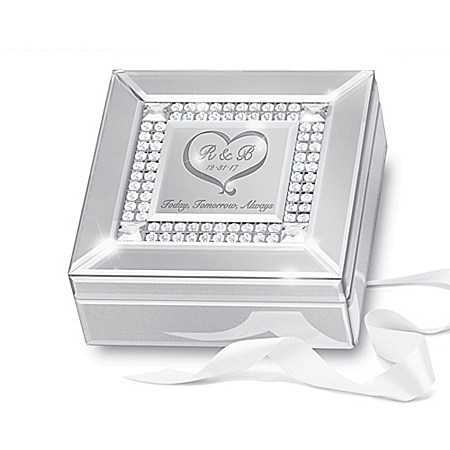 Mirror Personalized Bridal Music Box
