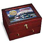 To Protect And Serve - Police Wooden Keepsake Box