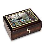 Thomas Kinkade Disney The Magic Of Love Personalized Music Box