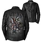 MARVEL Avengers Men's Genuine Leather Jacket