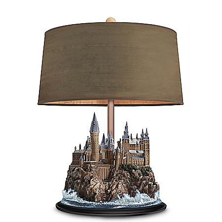 HARRY POTTER HOGWARTS Castle Illuminating Sculpture Table Lamp