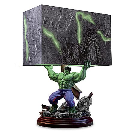 MARVEL HULK Smash Sculpture Table Lamp