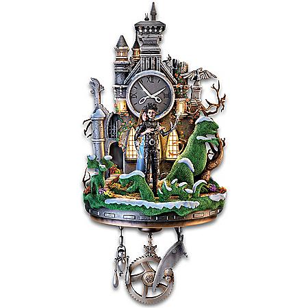 Tim Burton's Edward Scissorhands Illuminated Sculpture Wall Clock 126750001