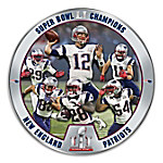 NFL Super Bowl LI Champions New England Patriots Collector Plate