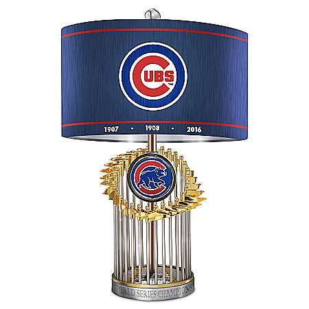 Chicago Cubs MLB World Series Table Lamp