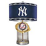 New York Yankees MLB World Series Table Lamp