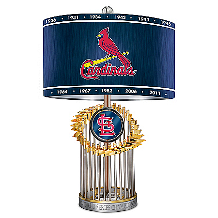 St. Louis Cardinals MLB World Series Table Lamp