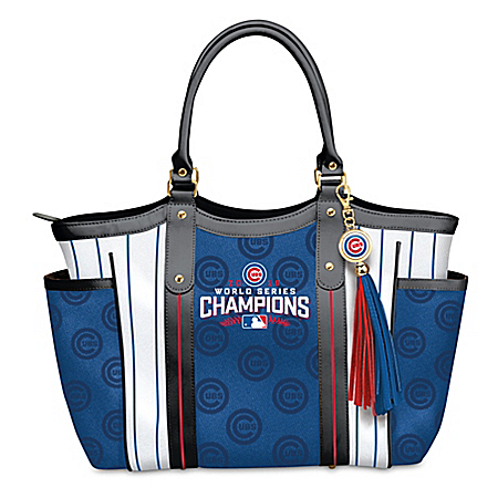 Home Run MLB World Series Champions Chicago Cubs! Tote Bag