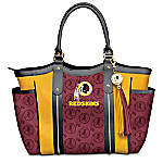 Touchdown Washington Redskins! NFL Tote Bag