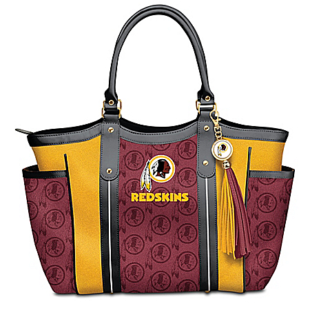 Touchdown Washington Redskins! NFL Tote Bag