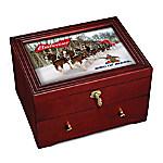 Budweiser - King Of Beers Custom-Crafted Wooden Keepsake Box