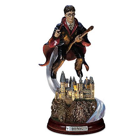 HARRY POTTER Harry's Magical Flight Illuminated Sculpture
