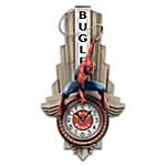 MARVEL SPIDER-MAN Daily Bugle Illuminated Wall Clock