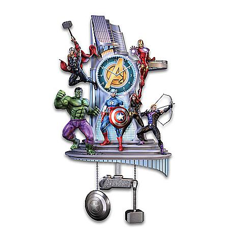 MARVEL Avengers Assemble Illuminated Wall Clock 126959001