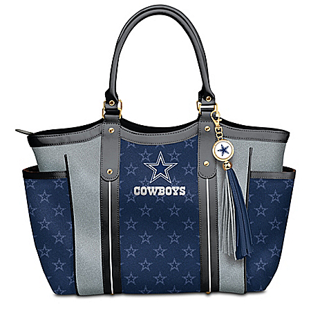 Touchdown Dallas Cowboys! NFL Tote Bag