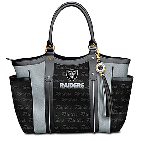 Touchdown Oakland Raiders! NFL Tote Bag