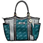 Touchdown Philadelphia Eagles! NFL Tote Bag