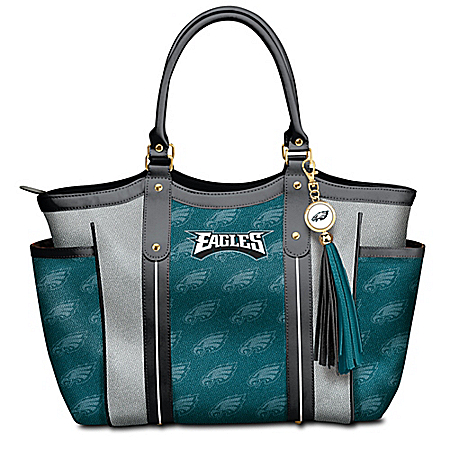 Touchdown Philadelphia Eagles! NFL Tote Bag