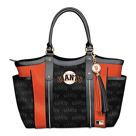 Home Run San Francisco Giants! Women's MLB Shoulder Tote Bag