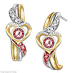 Alabama Crimson Tide Pride Earrings