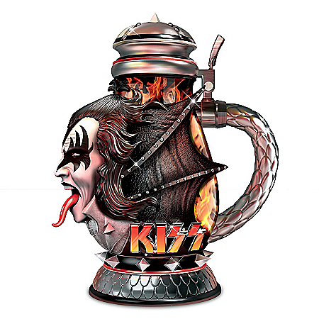 The KISS Tribute Sculpted Demon Stein