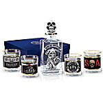 Sons Of Anarchy Glass Decanter Set