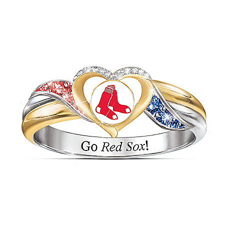 Boston Red Sox MLB Women's Pride Ring