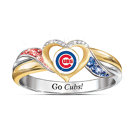 Chicago Cubs MLB Women's Pride Ring