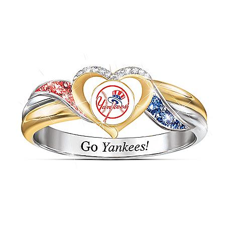 New York Yankees MLB Women's Pride Ring