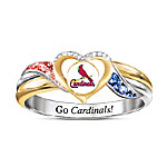 St. Louis Cardinals MLB Women's Pride Ring