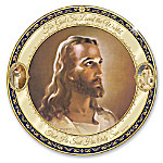 For God So Loved The World Religious Jesus Collector Plate