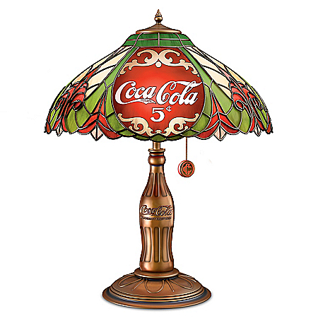 COCA-COLA Classic Elegance Table Lamp