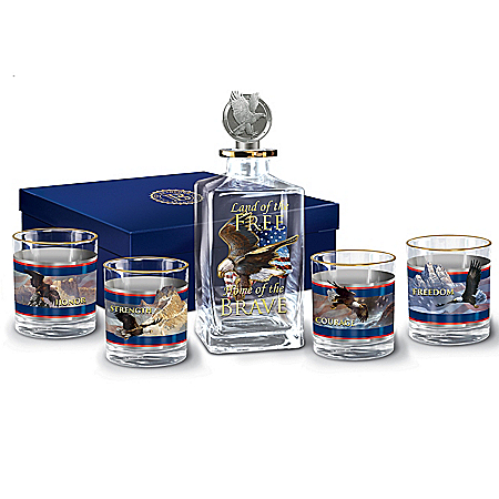Spirit Of Freedom Decanter Set