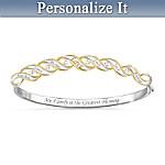 Family Blessings Personalized Diamond Women's Bracelet