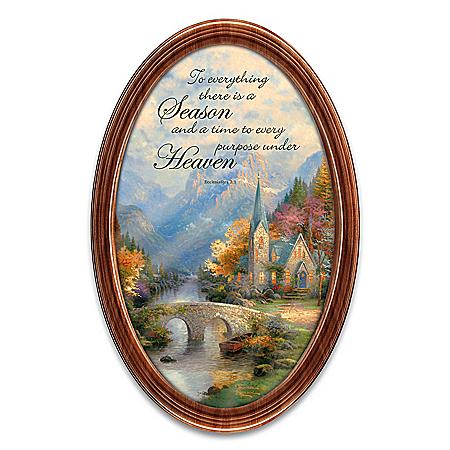 Thomas Kinkade Gift Of The Seasons Collector Plate 127471001