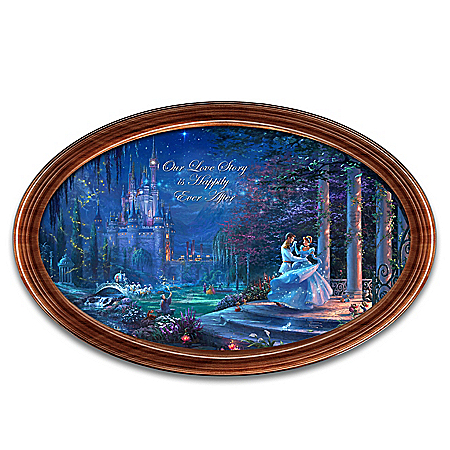 Disney Cinderella Happily Ever After Personalized Collector Plate