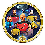 STAR TREK - The Next Generation 30th Anniversary Commemorative Collector Plate