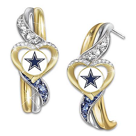 Dallas Cowboys Pride Women's Pierced Earrings