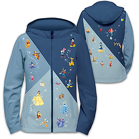 The Magic Of Disney Women's Softshell Jacket