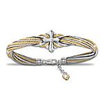 Strength Of Faith Women's Religious Cable Bracelet