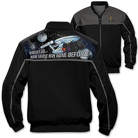 STAR TREK Men's Twill Jacket