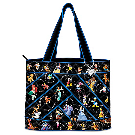 Disney Relive The Magic Women's Quilted Tote Bag
