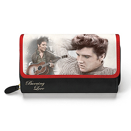 Elvis Presley Burning Love Women's Wallet